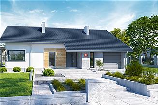 Projekt domu Dom przy Przyjemnej 18 bis