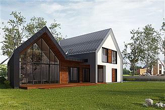 Projekt domu Skośny 02