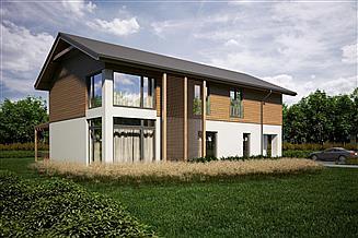 Projekt domu House 10.3