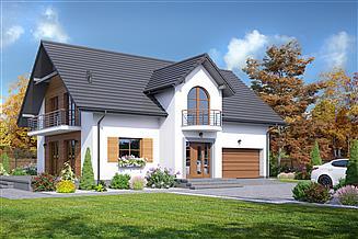 Projekt domu Żarnowo mkgg