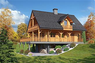 Projekt domu Świdnica mała 19 dws