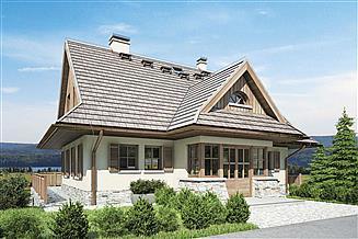 Projekt domu Sobótka