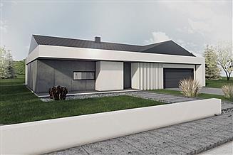 Projekt domu A-40