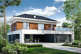 Projekt domu Alternatywny D35