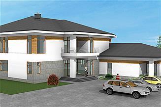Projekt domu opieki At-170