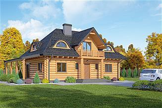 Projekt domu Chmielno dw