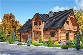 Projekt domu Zawoja dw 43