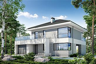 Projekt domu Modny D36