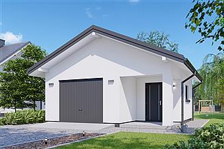 Projekt garażu APG 22