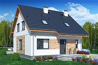 Projekt domu Jaskółka 3 bez garażu