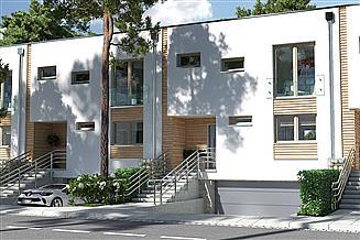 Projekt domu Ania segment środkowy