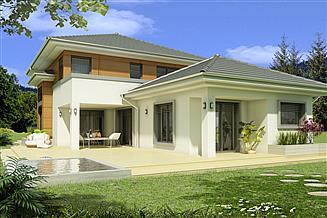 Projekt domu Sewilla Maxi C 3-garaże