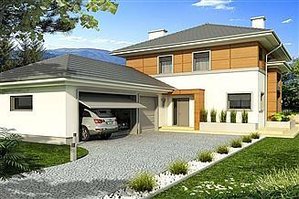 Projekt domu Sewilla Maxi D 3-garaże
