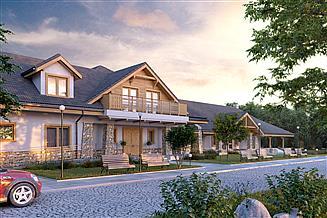 Projekt domu weselnego Cykada 6 Pensjonat, Hotel, Dom weselny