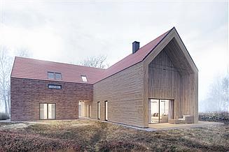 Projekt domu House X10 – drewno HBE