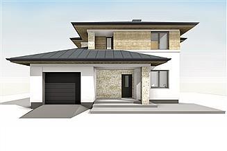 Projekt domu Cyprys 9
