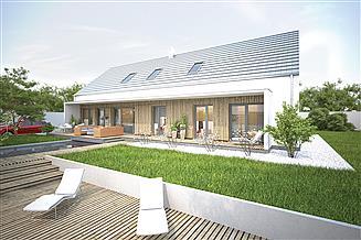 Projekt domu Murator EC383 Nowatorski (z wentylacją mechaniczną i rekuperacją)