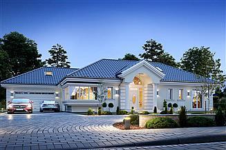 Projekt domu Willa Parkowa 6