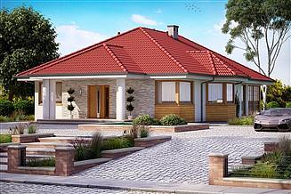 Projekt domu KA37