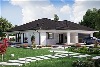 Projekt domu KA23