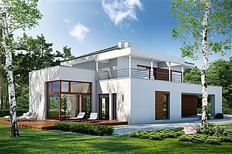 Projekt domu Ażurowy D38