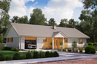 Projekt domu KA48
