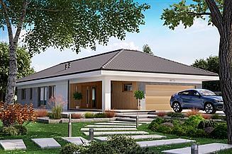 Projekt domu KA53