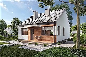 Projekt domu Murator C365b Przejrzysty - wariant II