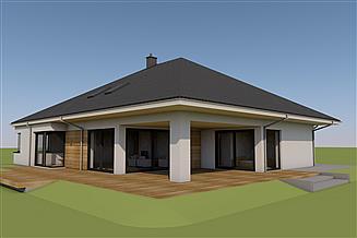 Projekt domu Tanita II G2 01 energo