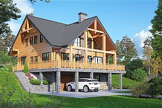 Projekt domu Tomaszewo średnie dw