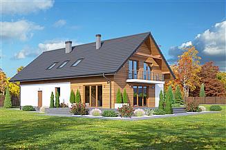 Projekt domu Tarnowo 22gg