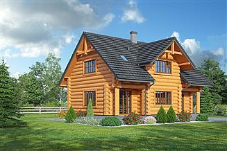 Projekt domu Bolesławice małe 36 dw