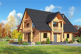 Projekt domu Sarnowo dws1