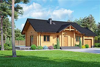 Projekt domu Miłków 4g dw