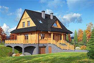 Projekt domu Jurgów 9 dw