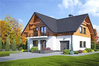Projekt domu Krosno 3 gk