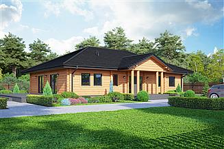 Projekt domu Arkadia 11 dw