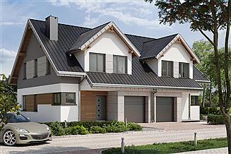 Projekt domu Lila 2 Duolit - murowana – beton komórkowy