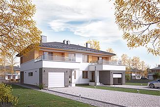 Projekt domu Oliwkowy