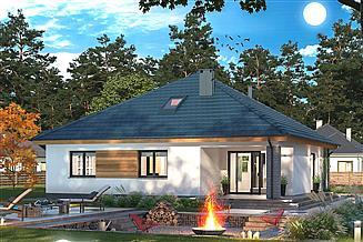 Projekt domu Tryton 3 Teriva