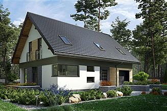 Projekt domu Mateo Rex - murowana – beton komórkowy