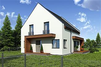 Projekt domu Kobalt