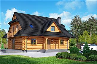 Projekt domu Bukowina 5dw