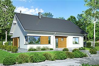 Projekt domu Mokka Modern