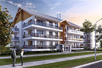 Projekt budynku wielorodzinnego Akant 4 Budynek wielorodzinny