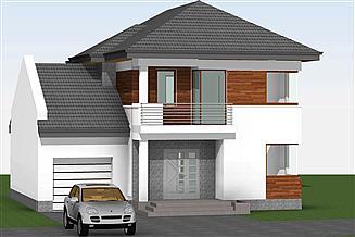 Projekt domu at-174