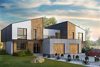 Projekt domu Bliźniak 03