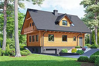 Projekt domu Bartne dw 29