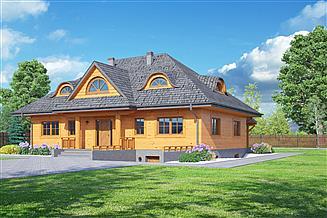 Projekt domu Chmielniki dws 39