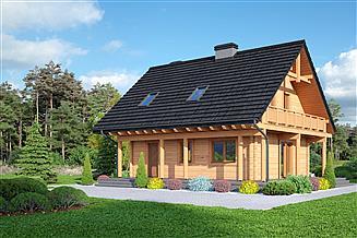 Projekt domu Świdnica mała dw 29